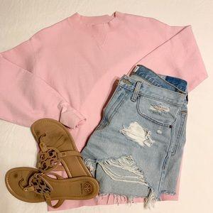 Bubblegum Pink Banana Republic Sweater